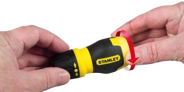 Destornillador Stanley Stht0-70885 con carraca + organizador de 35 puntas en Amazon
