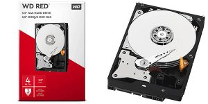 Disco duro WD Red WD40EFAX de 4 TB