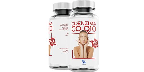 Envase x60 cápsulas Colágeno Coenzima Q10 200 mg barato en Amazon