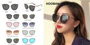 Gafas de sol Hooban Luxury Cat Eyes para mujer baratas en AliExpress