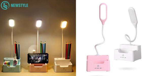 Lámpara LED de mesa Newstyle recargable barata en AliExpress
