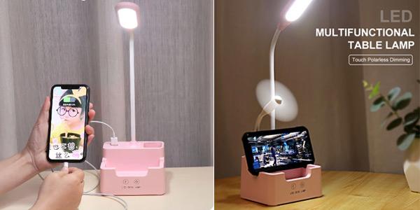 Lámpara LED de mesa Newstyle recargable oferta en AliExpress