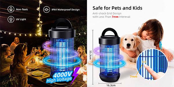 Lámpara antimosquitos Ughey impermeable barata