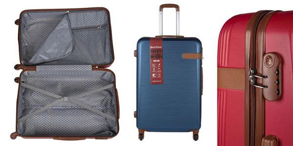 maleta cabina rígida ABS chollo