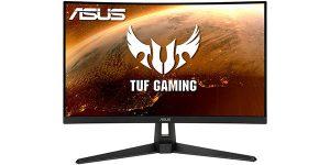 "Monitor gaming curvo Asus TUF VG27VH1B Full HD de 27"""