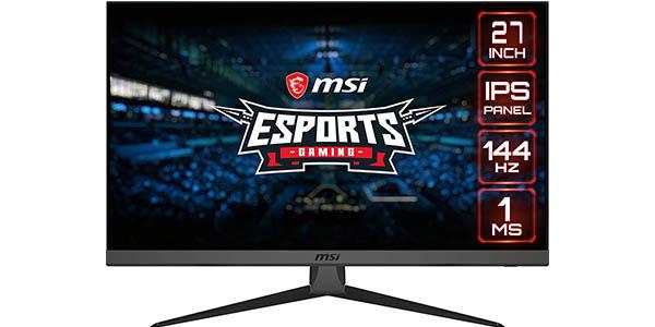 """Monitor gaming MSI Optix G272 Full HD de 27"""" 144Hz 1ms"""