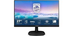 "Monitor Philips 273V7QJAB Full HD de 27"""