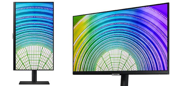 """Monitor Samsung LS24A600NWUXEN QHD de 24"""" con descuento"""