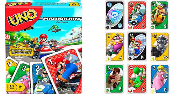 UNO Mario Kart por barato