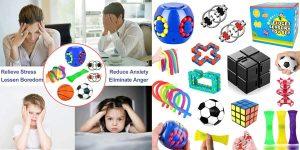 Pack 18 juguetes sensoriales para el alivio del estrés barato en Amazon
