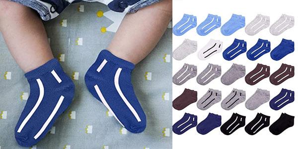 Pack x25 pares de calcetines Duufin para bebés o niños barato en Amazon