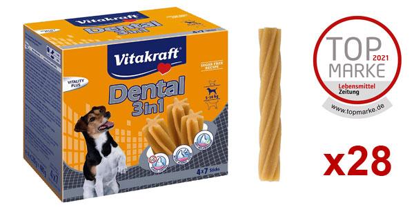 Caja x28 sticks Vitakraft Dental para perros barato en Amazon