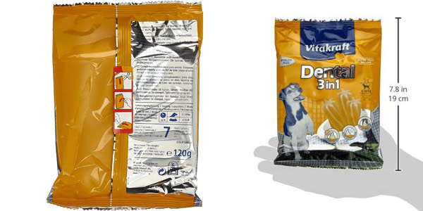 Caja x28 sticks Vitakraft Dental para perros chollo en Amazon