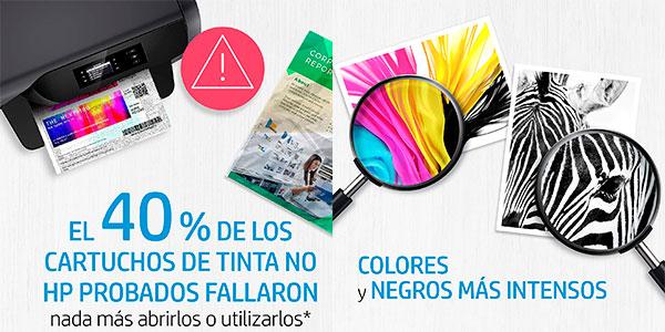Pack x2 Cartuchos de tinta HP 302 negra y tricolor barato