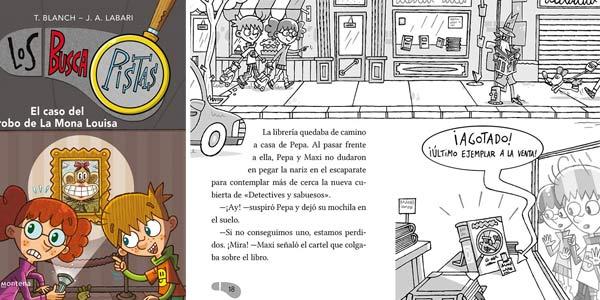Pack Los BuscaPistas (1-3): El caso del castillo encantado | El caso del librero misterioso | El caso del robo de la Mona Louisa chollo en Amazon