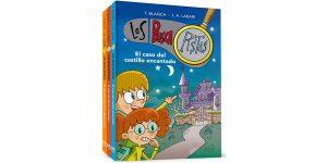 Pack Los BuscaPistas (1-3): El caso del castillo encantado | El caso del librero misterioso | El caso del robo de la Mona Louisa barato en Amazon