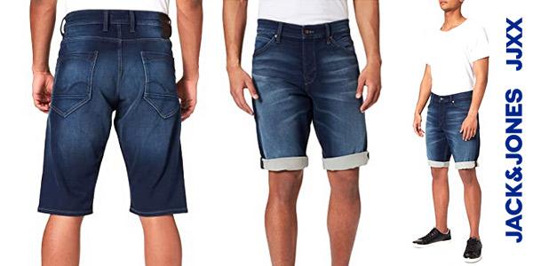 Vaqueros cortos Jack & Jones Jjirick Jjicon Shorts para hombre baratos en Amazon
