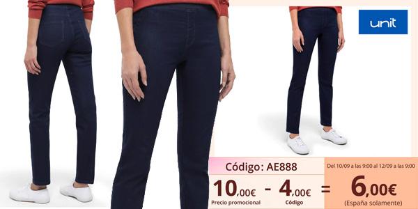 Pantalones vaqueros Unit para mujer baratos en AliExpress Plaza