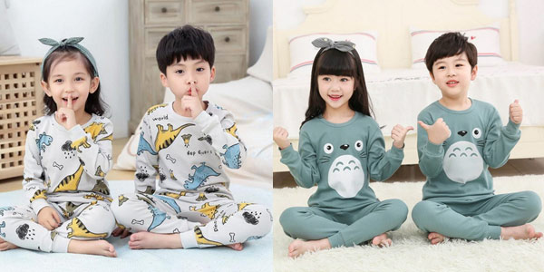 Pijama infantil Totoro barato en AliExpress