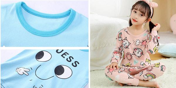 Pijama infantil Totoro chollo en AliExpress