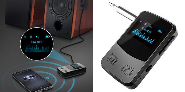 Receptor Bluetooth Pantalla OLED Electric Giant barato en Amazon