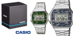 Reloj digital unisex Casio A168WEC barato en Amazon
