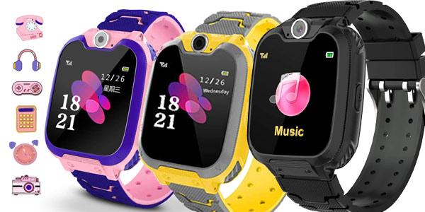 Reloj inteligente Winnes S6 para niños barato en Amazon