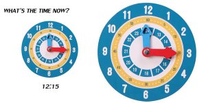 Reloj de aprendizaje en madera estilo Montessori barato en AliExpress