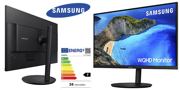 Samsung LF27T702QQUXEN monitor chollo