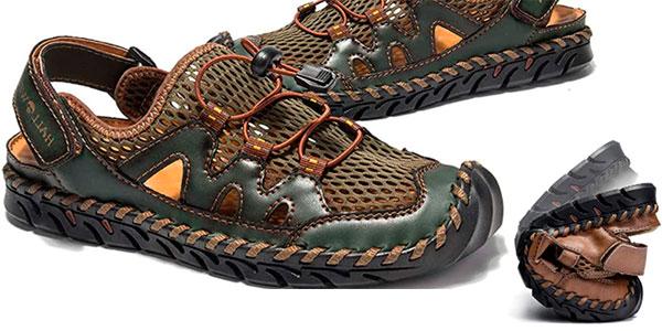 Sandalias de pescador Nuheel para hombre baratas