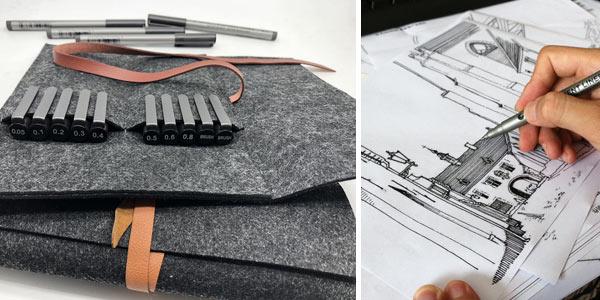 Pack x10 Rotuladores STA de punta fina chollo en Amazon