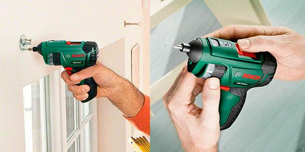 Set Atornillador inalámbrico Bosch PSR Select con cargador y puntas barato