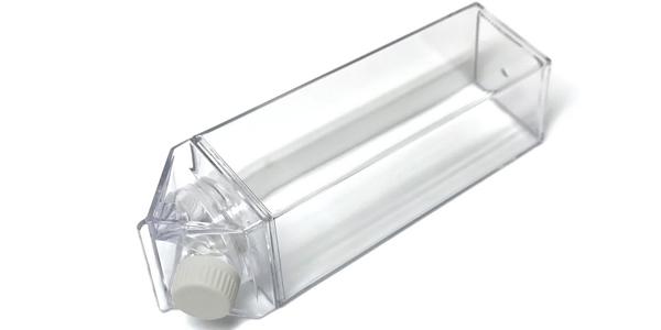Set Botella de plástico sin BPAs con forma de tetrabrik + pajita acero inxo + 2 cepillos oferta en AliExpress