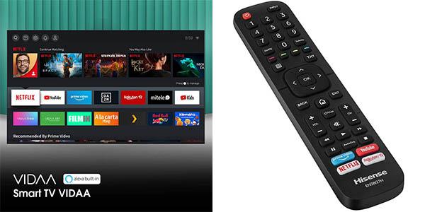 Smart TV Hisense 50AE7000F UHD 4K 2020 con descuento