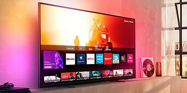 "Smart TV Philips 58PUS7805 UHD 4K HDR IA de 58"" barato"