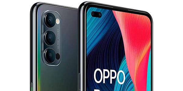 Smartphone Oppo Reno 4 5G con descuento