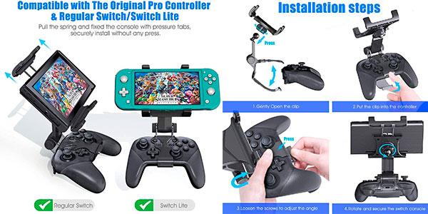 Soporte Oivo de gamepad Pro para Switch barato