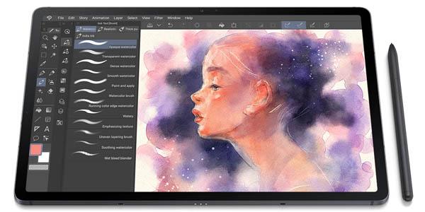 """Tablet Samsung Galaxy Tab S7 FE de 12,4"""" con S-Pen"""
