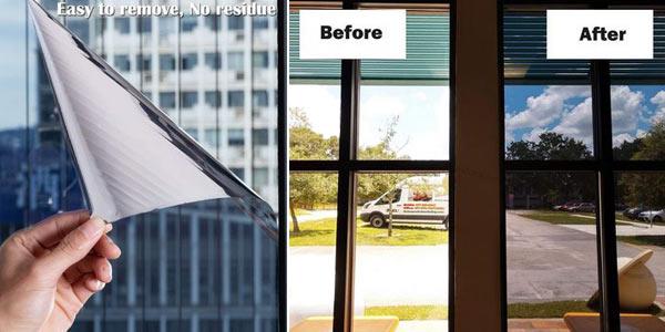 Vinilo Anti UV de privacidad para ventanas oferta en AliExpress