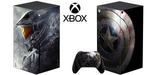 Vinilo para decorar la Xbox Series X