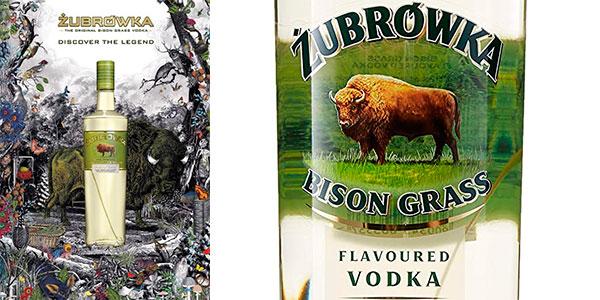 Vodka Zubrówka Bison Grass de 1.000 ml barato