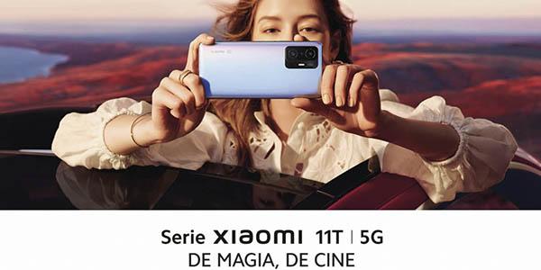 Xiaomi 11T/T Pro promoción reserva TV gratis
