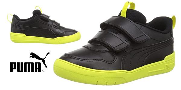 Zapatillas Puma Multiflex SL V para niños baratas en Amazon