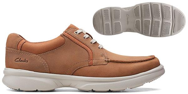 Zapatos Clarks Bradley Vibe para hombre baratos