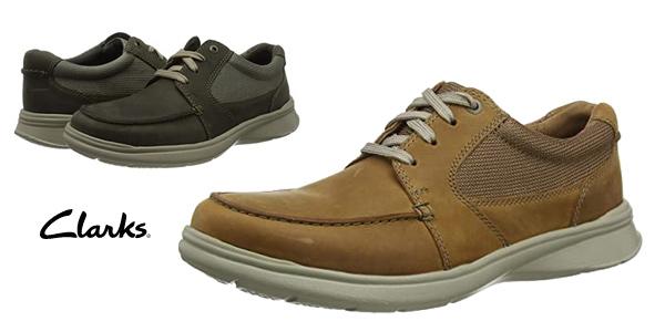 Zapatos Clarks Cotrell Lane para hombre baratos en Amazon