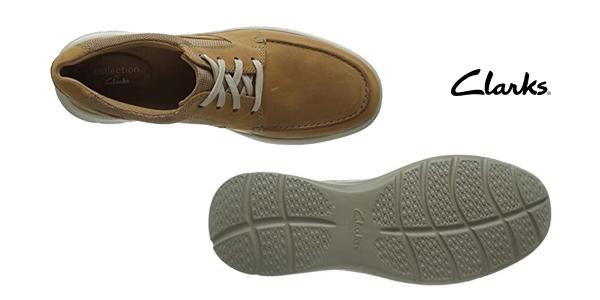 Zapatos Clarks Cotrell Lane para hombre chollo en Amazon