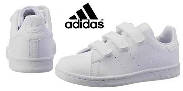 Adidas Stan Smith CF infantiles chollo