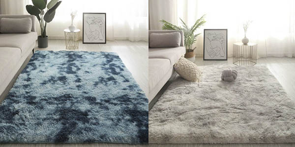 alfombra pelo largo salón chollo