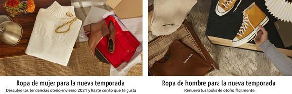 Amazon Prueba primero paga después servicio moda