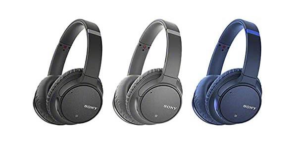 Auriculares inalámbricos Sony WH-CH700NB con Alexa